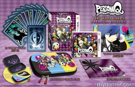 PersonaQ PremiumEd Persona Q Now Available - DLC Scheduled Leaked Persona Q Now Available – DLC Scheduled Leaked PersonaQ PremiumEd