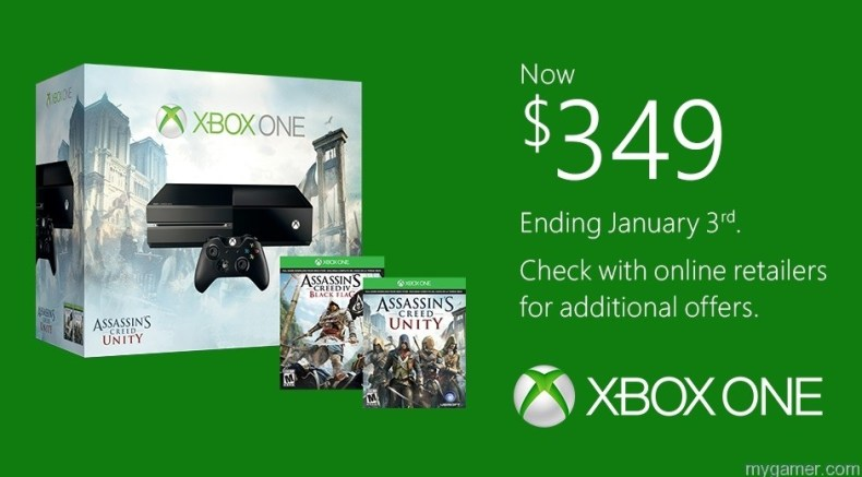 Last Chance to Buy Xbox One for $349 Last Chance to Buy Xbox One for $349 ACUnity