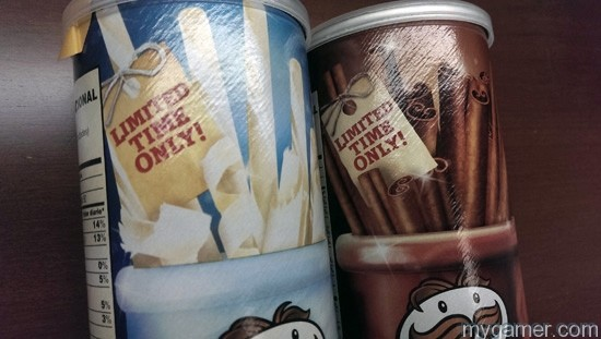 Limited Time is right! Gamer's Gullet – Pringles Holiday White Chocolate and Cinnamon & Sugar Flavors Review Gamer's Gullet – Pringles Holiday White Chocolate and Cinnamon & Sugar Flavors Review Limited Time