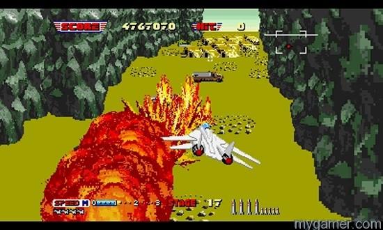 After Burner II Splosion 3D After Burner II Now Available on 3DS eShop 3D After Burner II Now Available on 3DS eShop After Burner II Splosion