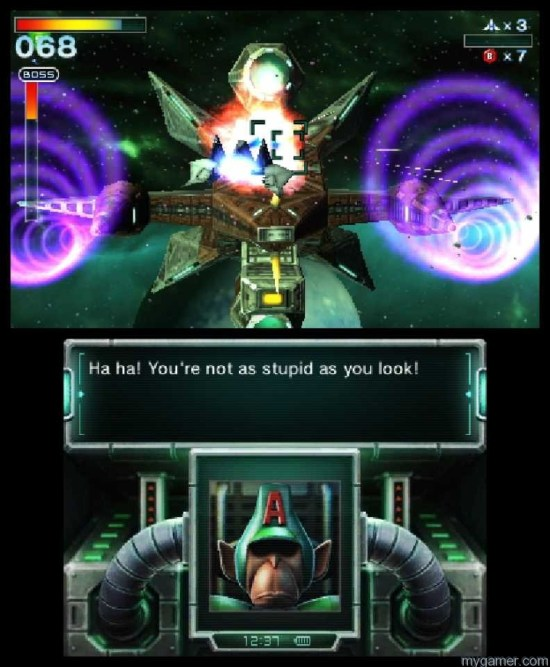 Each stage has medals to earn Star Fox 64 3D Review Star Fox 64 3D Review 1844655 6 3ds starfox64 3 scrn08 e3 copy