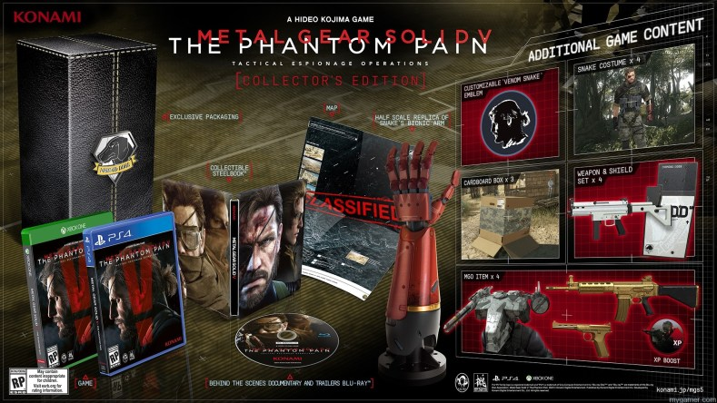 Metal Gear Solid V: The Phantom Pain Gets Release Date and Collector's Edition Metal Gear Solid V: The Phantom Pain Gets Release Date and Collector's Edition 3 MGS Hero Shot C AGNOSTIC US  03 03 15 1920