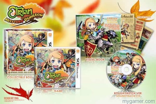 Etrian Myster DUng Game Etrian Mystery Dungeon Getting Free DLC and 3DS Theme for Early Buyers Etrian Mystery Dungeon Getting Free DLC and 3DS Theme for Early Buyers Etrian Myster DUng Game