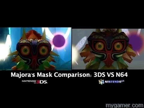 Nice visual upgrades The Legend of Zelda Majora's Mask 3D (3DS) Review The Legend of Zelda Majora's Mask 3D (3DS) Review Majora Mask Compare