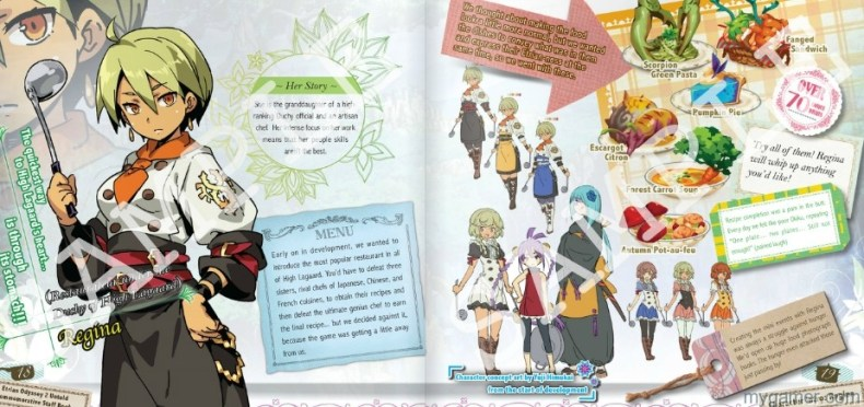 Etrian Odyssey 2 Untold Staff Book Images Leaked Etrian Odyssey 2 Untold Staff Book Images Leaked Etrain Ody Book Image