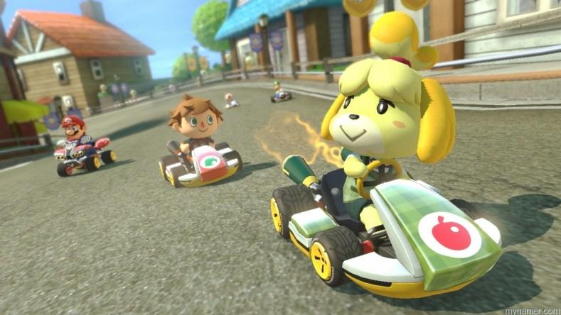 Mario Kart 8 animla crossing