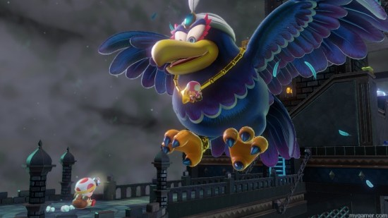 Bowser is to Mario as this bird is to Toad Captain Toad: Treasure Tracker (Wii U) Review Captain Toad: Treasure Tracker (Wii U) Review Captain Toad bird 1024x576