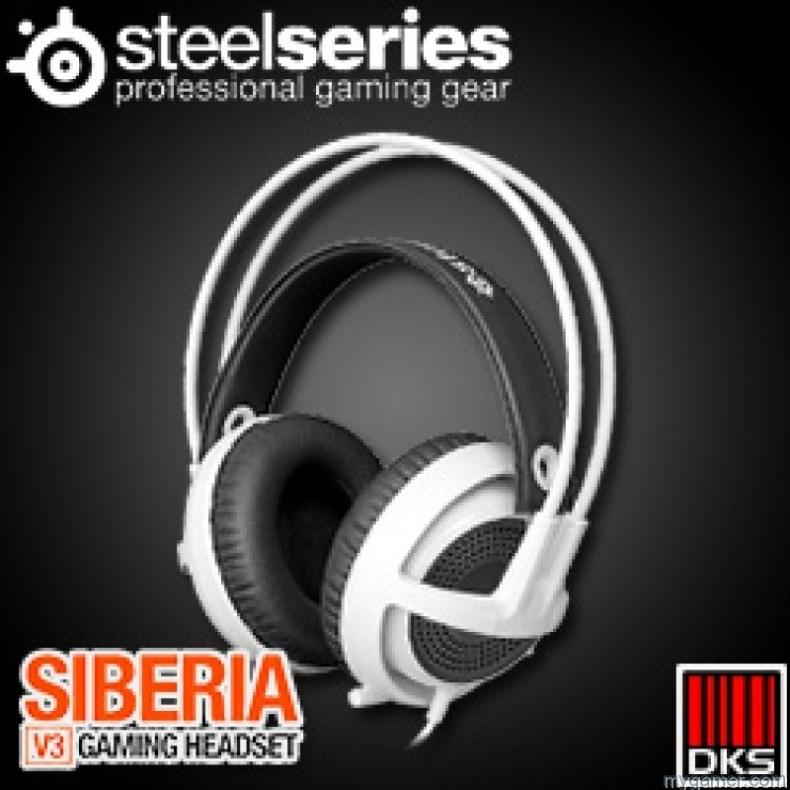 SteelSeries Introduces Siberia Gaming Headsets to Console Players SteelSeries Introduces Siberia Gaming Headsets to Console Players SteelSeries Siberia V3 maindatashop 800x800