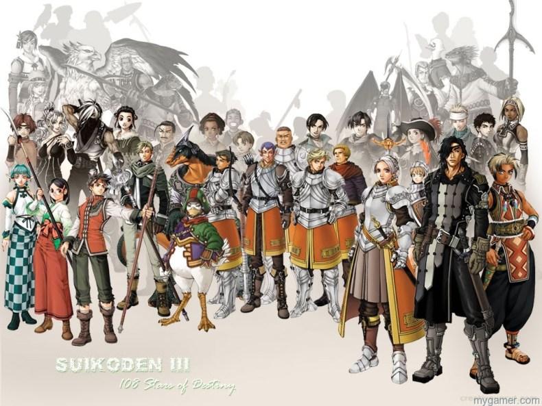 Konami Releases Suikoden III on PSN Konami Releases Suikoden III on PSN Suikoden III