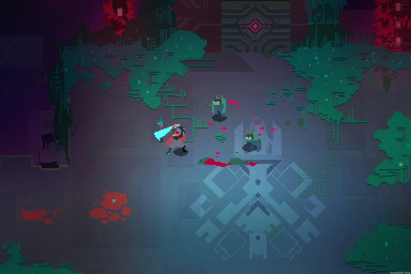 Gameplay in Hyper Light Drifter Hyper Light Drifter Preview Hyper Light Drifter Preview Gameplay in Hyper Light Drifter