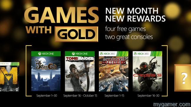 Games with Gold Sept15