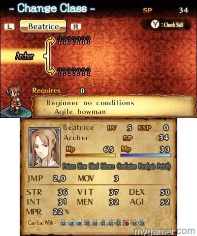 Mercenaries Saga 2 menu screen Mercenaries Saga 2: Order of the Silver Eagle 3DS eShop Review Mercenaries Saga 2: Order of the Silver Eagle 3DS eShop Review Mercenaries Saga 2 menu screen