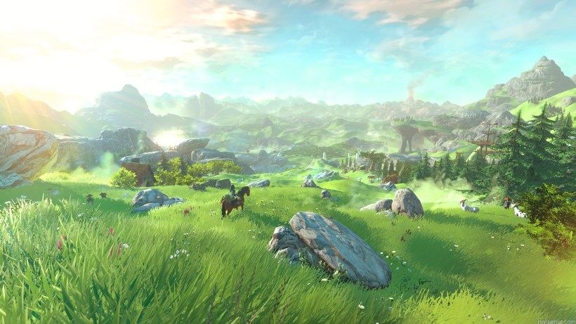 Largest open world in Zelda series