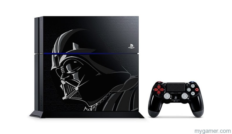 Star Wars Playstation 4 Bundle Star Wars Bundles with Darth Vader-Inspired PlayStation 4 System and DUALSHOCK 4 Wireless Controller Revealed Star Wars Bundles with Darth Vader-Inspired PlayStation 4 System and DUALSHOCK 4 Wireless Controller Revealed PS4 StarWarsBattlefront S