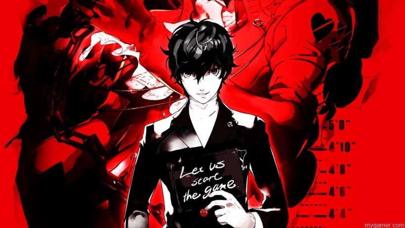 Color Theme in Persona 5 is Red for a Harsh Feel Persona 5 Preview Persona 5 Preview Persona 5 Visuals REd