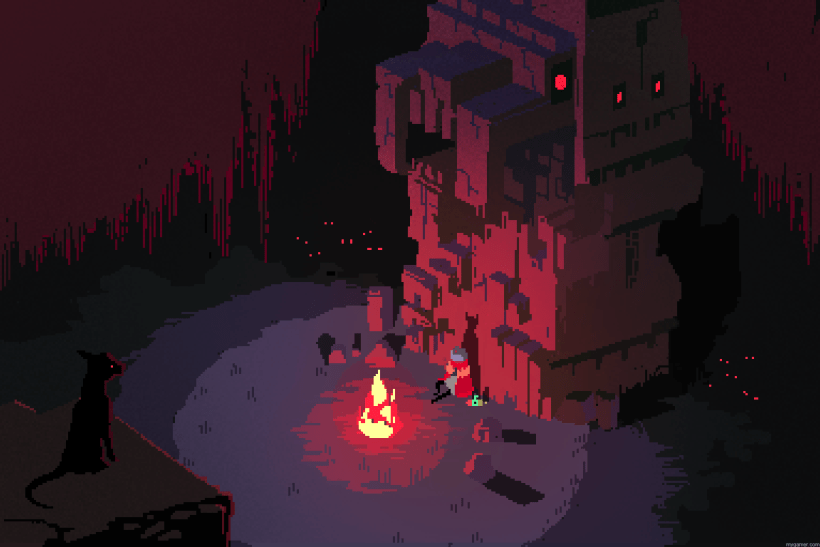 Screenshot of Hyper Light Drifter Hyper Light Drifter Preview Hyper Light Drifter Preview Screenshot of Hyper Light Drifter