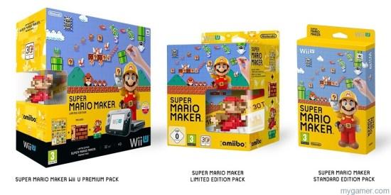 Super Mario Maker bundles Mewtwo, Falco, Mega Yarn Yoshi and Mii Fighter amiibos Dated Mewtwo, Falco, Mega Yarn Yoshi and Mii Fighter amiibos Dated Super Mario Maker bundles