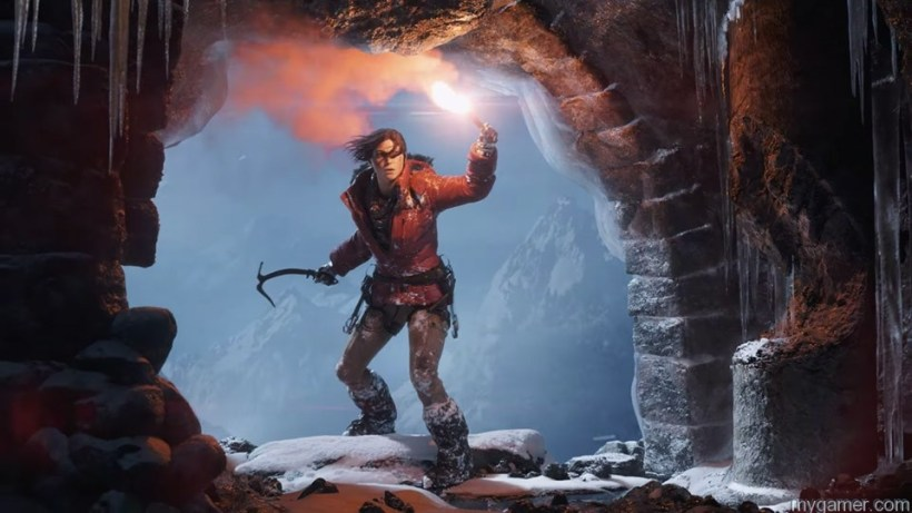 Gameplay in Rise of the Tomb Raider Rise of the Tomb Raider Preview Rise of the Tomb Raider Preview rise of the tomb raider trailer 01