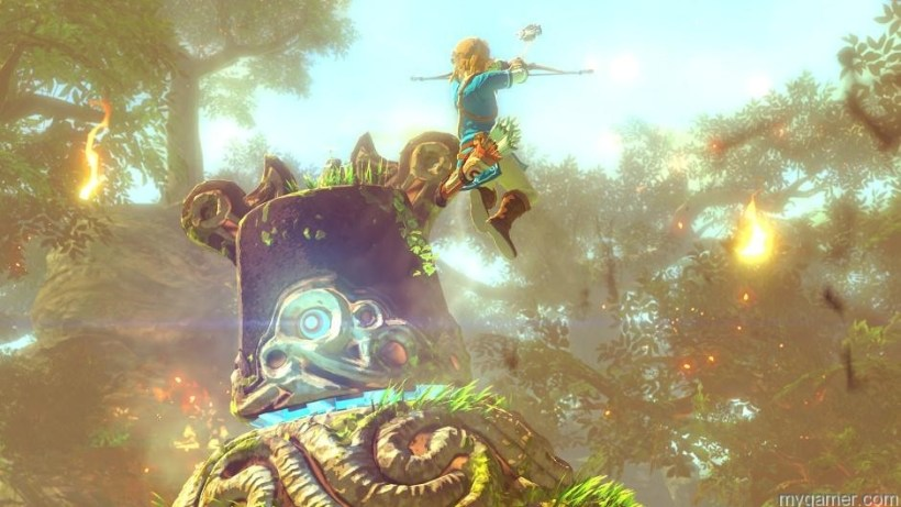 Main character in The Legend of Zelda for Wii U The Legend of Zelda on Wii U Preview The Legend of Zelda on Wii U Preview the legend of zelda wii u 2