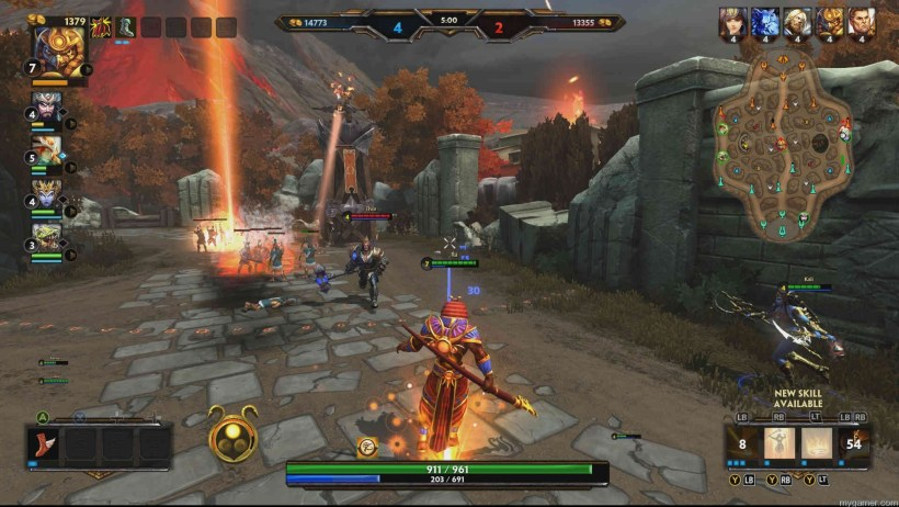 SMITE_XBox_feat SMITE for Xbox One Review SMITE for Xbox One Review SMITE XBox feat