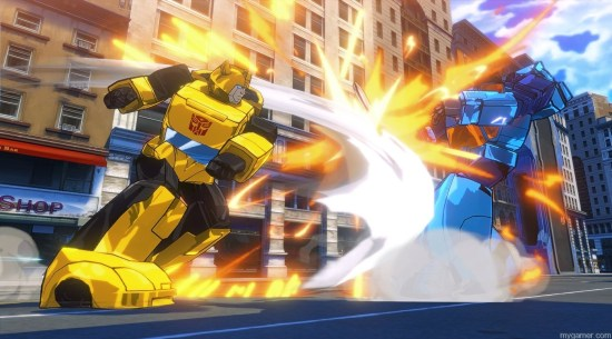 Transformers Devastation BumbleB TRANSFORMERS: Devastation (Xbox One) Review TRANSFORMERS: Devastation (Xbox One) Review Transformers Devastation BumbleB