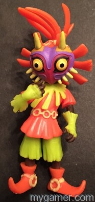 The Skull Kid cannot stand on his own two feet. ;(