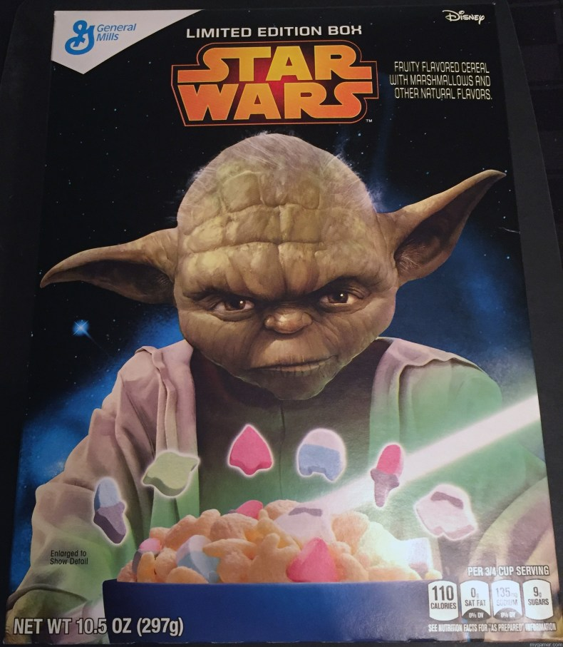 Gamer's Gullet: Star Wars Cereal Review Gamer's Gullet: Star Wars Cereal Review Star Wars Cereal Box Front