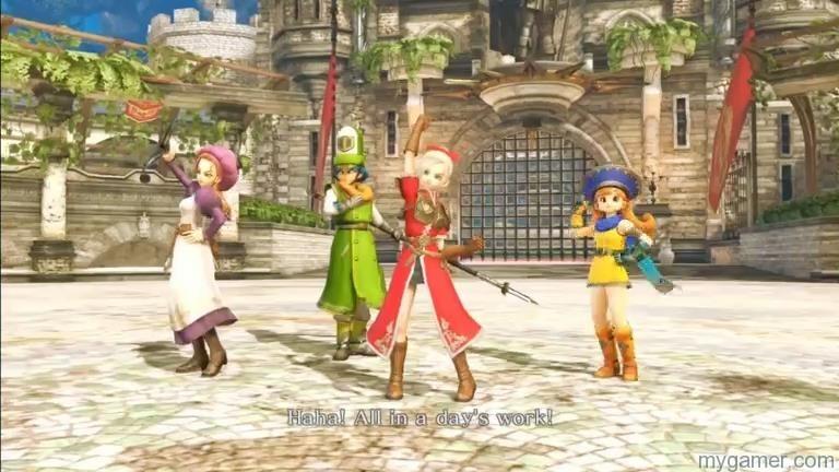 dragonquest1  MyGamer Visual Cast Awesome Blast! Dragon Quest HEROES! dragonquest1