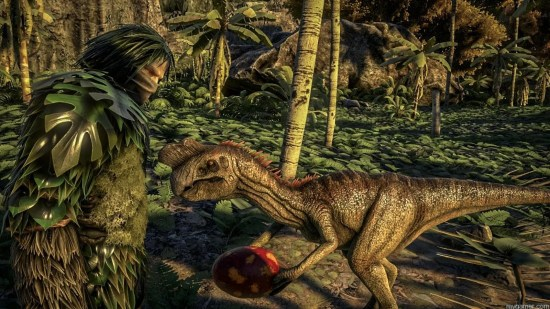 Ark Dino  ARK: Survival Evolved Now Available As Preview Download on Xbox One Ark Dino