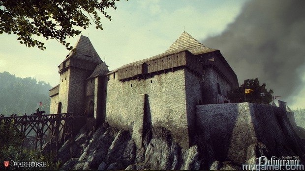 Castle in KCD  Kingdom Come: Deliverance Preview Castle in KCD