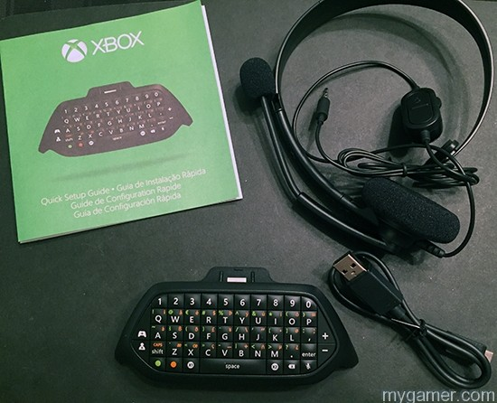 You get more than just the ChatPad xbox one chatpad review Xbox One Chatpad Review X1 Chatpad All