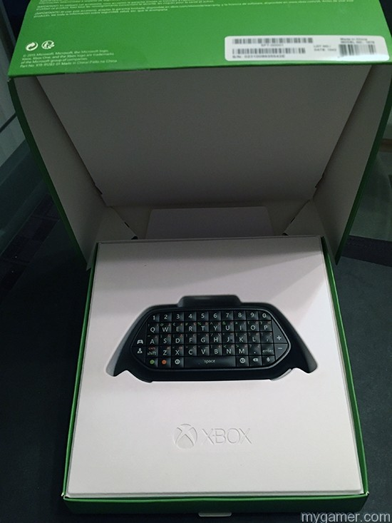 Securely transports xbox one chatpad review Xbox One Chatpad Review X1 Chatpad box Open