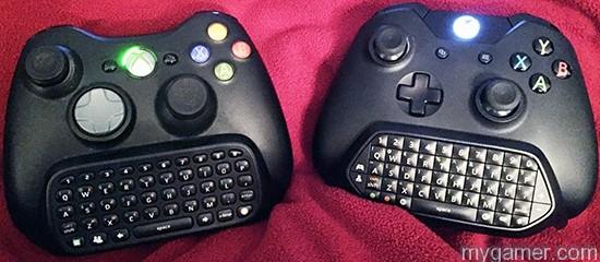 360 Chatpad vs X1 Chatpad xbox one chatpad review Xbox One Chatpad Review Xbox Chatpads 360 vs One
