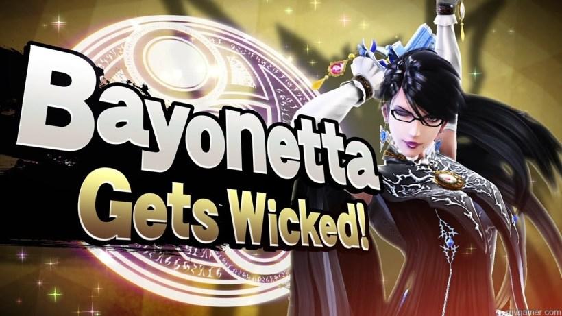 Bayonetta Smash Bros banner