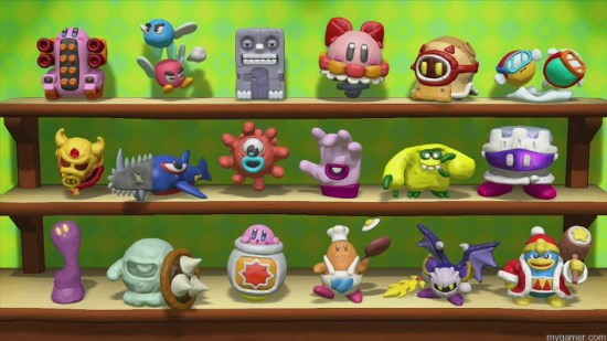 Earning all the Trophies will take some time Kirby and the Rainbow Curse Review Wii U Kirby and the Rainbow Curse Review (Wii U) Kirby Rainbow Curse Trophies