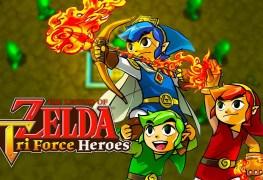 Legend of Zelda: Tri Force Heroes 3DS Review Legend of Zelda: Tri Force Heroes 3DS Review LoZ Tri Force Heroes Banner