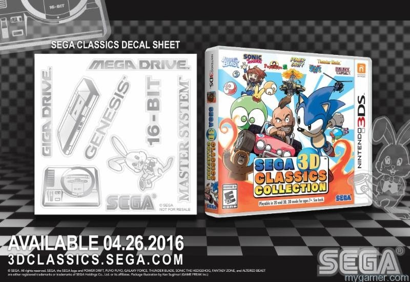 Sega Classics Decal 3DS Pre-Order SEGA Classics 3DS, Get a Free Decal Sheet Pre-Order SEGA Classics 3DS, Get a Free Decal Sheet Sega Classics Decal 3DS