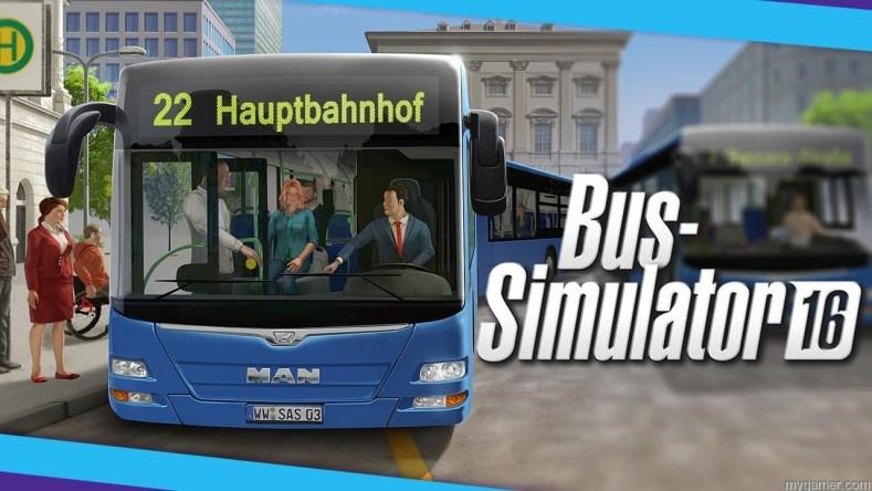 bus simulator 2016 stream myGamer Visual Cast Awesome Blast! Bus Simulator 2016 Bus Simulator 2016