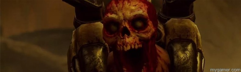 Check Out the new Live Action Doom Trailer Check Out the new Live Action Doom Trailer Doom skeleton