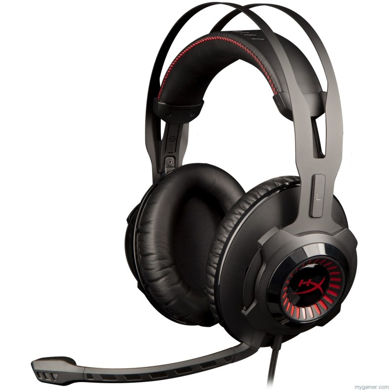 HyperX Announces New Cloud Revolver Headset HyperX Announces New Cloud Revolver Headset HyperX Cloud Revolver Left