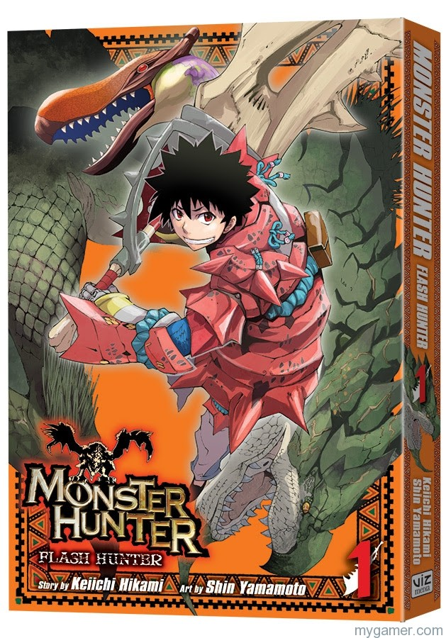 Monster Hunter Manga Releasing in April 2016 Monster Hunter Manga Releasing in April 2016 Monster Hunter Flash Hunter Manga1