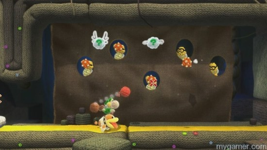 Your trust K9 sidekick will retrieve items for you Yoshi's Woolly World Wii U Review Yoshi's Woolly World Wii U Review Yoshi Poochey