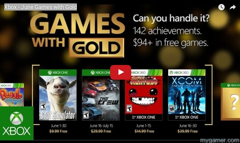 Image Result For Free Games With Gold July