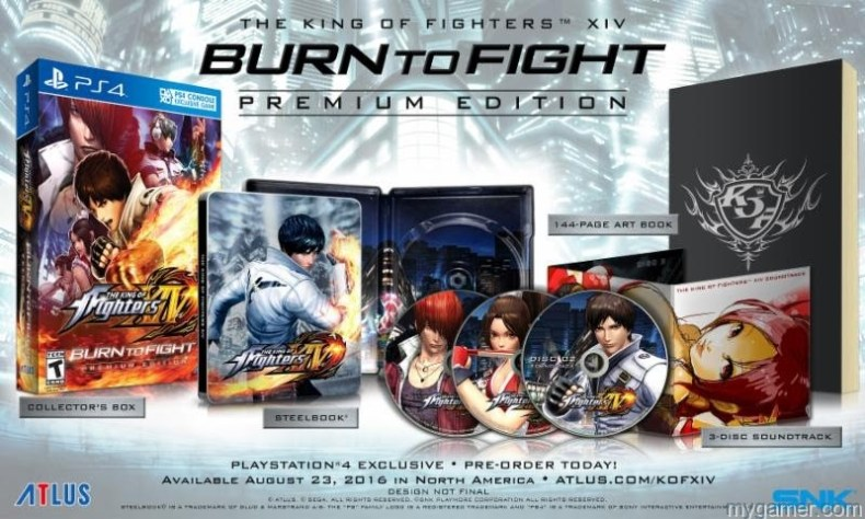 Check Out The King of Fighters XIV Burn To Fight Premium Edition Check Out The King of Fighters XIV Burn To Fight Premium Edition King of Fighters XIV BurnToFight