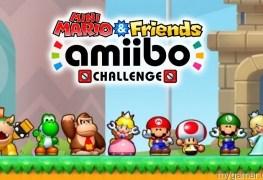 Mini Mario Friends amiibo Challenge