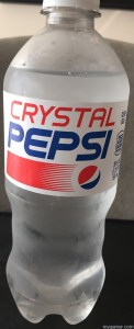 Crystal Pepsi Bottle