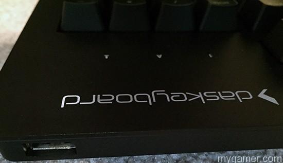 Das Keyboard Prime 13 has one USB pass through port