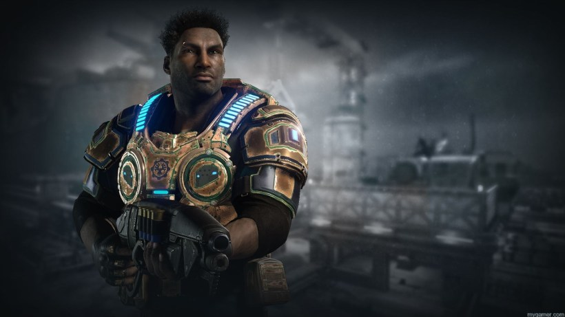 Del character from Gears of War 4 Gears of War 4 Preview Gears of War 4 Preview Del gow4