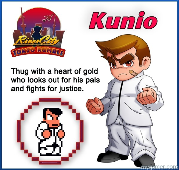 Kunio1 Learn About River City: Tokyo Rumble's Cast Here Learn About River City: Tokyo Rumble's Cast Here Kunio1
