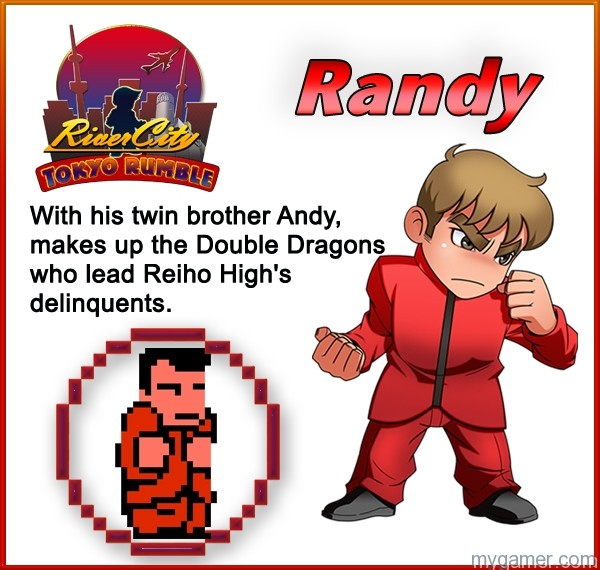 Randy Learn About River City: Tokyo Rumble's Cast Here Learn About River City: Tokyo Rumble's Cast Here Randy